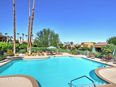 Photo for Private Palm Desert Condo w/Mtn View & Pool Access