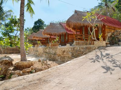 Photo for The Tamban Jukung - Rustic Wooden House in Nusa Pe nida