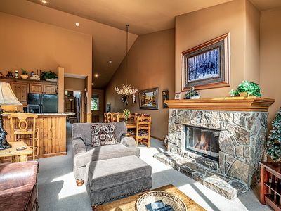 Photo for 1 Block from Downtown Breckenridge! Private Hot Tub, Beautifully Decorated!