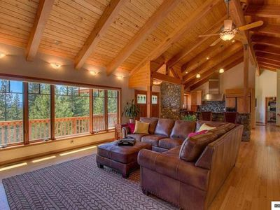 Photo for The perfect 5-STAR Tahoe Luxury Home for the center of your holiday gathering.