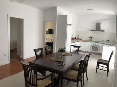 Photo for Comfortable and quiet Apartment ideal family and friends, a luxury on the beach