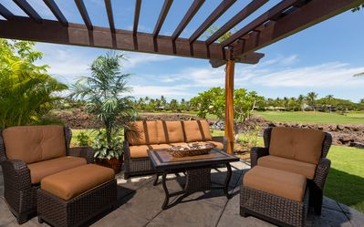 Photo for Mauna Lani Golf Villas C1 - Luxury golf course frontage condo within Mauna Lani*Corner Unit*
