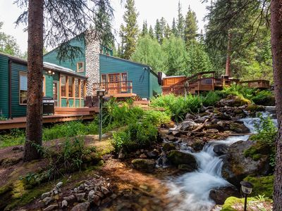 Photo for Creekside Chateau Home Hot Tub Breckenridge Colorado Vacation Rental