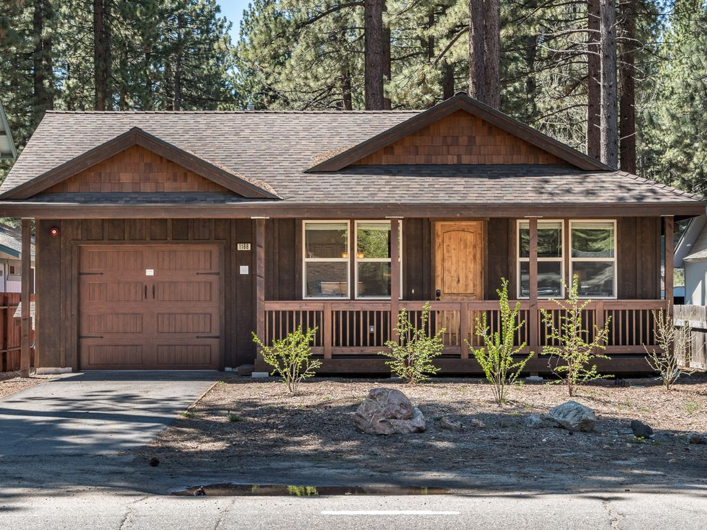 vacation of city lake in cabin cabins rental redawning manzanita south tahoe property