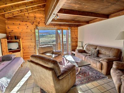 Photo for SKI-IN / SKI-OUT Les Crosets Portes du Soleil, directly on the slopes, 2 bedrooms, wifi and indoor g