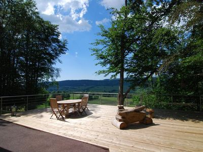 Photo for Upscale CHALET in the heart of the Haut Jura Nature Park: relaxation assured