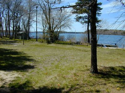 250 foot level waterfront with beach