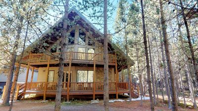 Photo for LIEBERMAN CABIN PRIVATE HOT TUB⭐️FREE WIFI ONLY 35 MINUTES TO WEST YELLOWSTONE BBQ GRILL