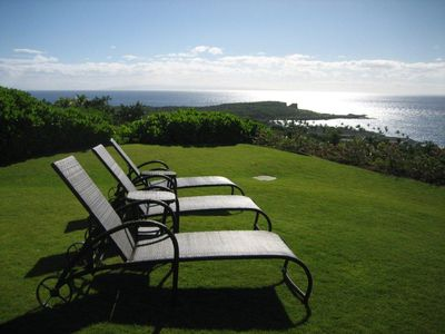 Photo for Private Family Home with Breathtaking Ocean Views, On 3/4 Acre Secluded Lot