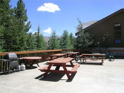 Photo for Spacious condo located in town with private balcony, hiking trails close by