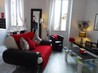 Photo for 1BR Apartment Vacation Rental in Cannes, Provence-Alpes-Côte-D'Azur