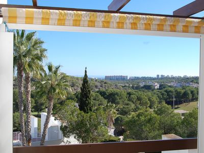Photo for Luxurious apartment with breathtaking views of the sea and the golf course. Grandiose terrace