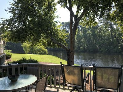 Photo for Beautiful lake view close to pool, tennis and Sea Pines Resort Beach
