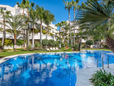 Photo for FA - Fabulous Apartment with in and outdoor Pool - Apartment for 4 people in Nueva andalucia