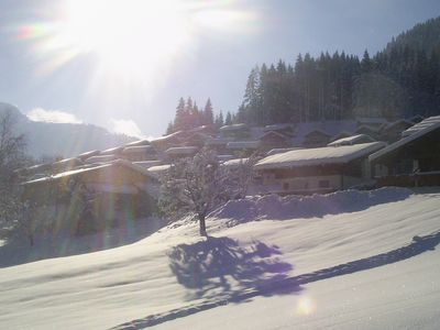 Photo for Family-friendly holiday home next to the slope, Alpendorf House 2