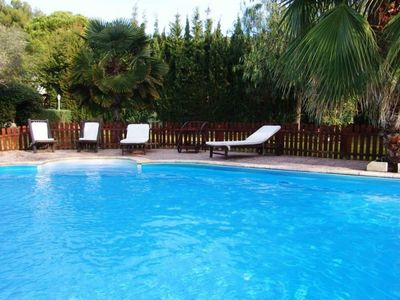 Photo for Club Villamar - Wonderful house with airco, wifi, fenced swimming pool and large beautiful garden...