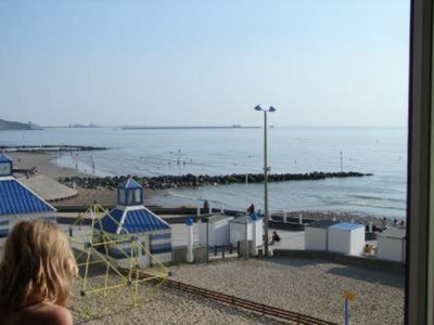 Photo for Apartment/ flat 6 to 8 pers. Sea front.  WIMEREUX