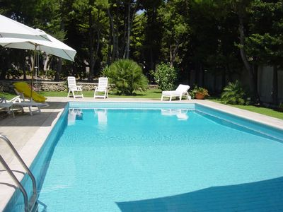 Photo for Guest House in a villa with private swimming pool