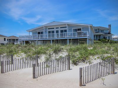 Photo for Experience the beach life with this relaxing oceanfront home.