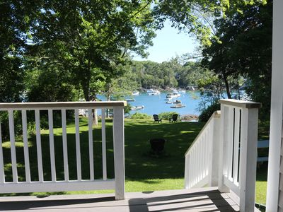 Photo for Waterfront Cottage w/Dock on South Bristol Harbor