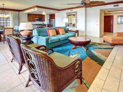 Photo for January 26 to Feb 2. Ocean front!! 3 bedroom 3 bathroom, Marriotts Maui Ocean Cl
