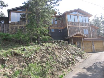 Photo for Great large family home!!! Pool Table, Hot Tub, Forested! Summer booking fast!!!