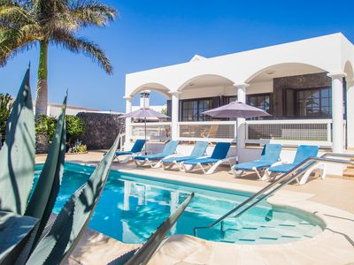 Photo for Private Villa With Electric Heated Pool and Wifi, Mature Gardens Close To Town