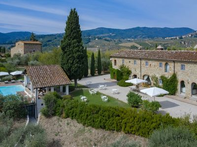 Photo for Villa Colleluna - Wonderful stone farmhouse with pool