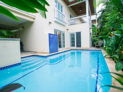 Photo for steps from the ocean with a Private Pool in Lawson Rock – Perfect for 2 Couples
