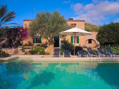 Photo for Authentic Majorcan Country Finca, Wifi, Private Pool and close to the Vall d´Or Golf & Cala Sanau!