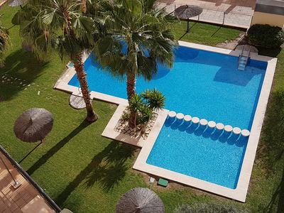 Photo for MAGNIFICENT APARTMENT WITH WIFI, TERRACE, SWIMMING POOL, NETFLIX AND GARAGE