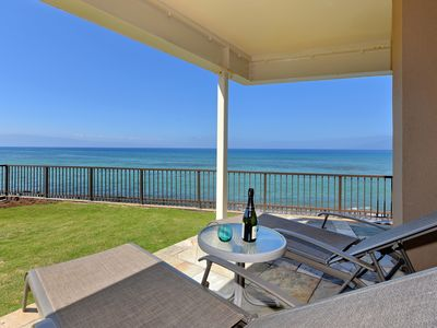 Photo for Epic Sunsets Direct Ocean View -Watch the Whales from your Lanai