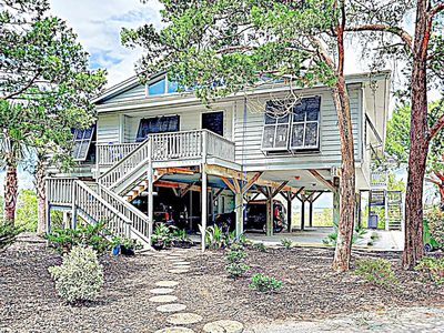 Collins Creek House - awesome updated Cottage on South End of Pawleys Island