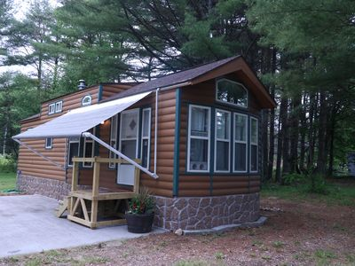 Photo for Adirondack Cozy Cabin, Family friendly Easy to find, Close to so many activities