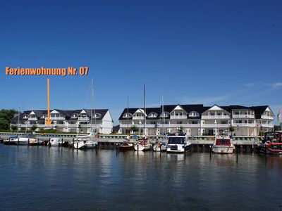 Photo for Apartment No. 07 -. Apartment Hafenidyll 07 with Harbour View