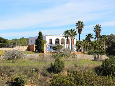 Photo for Beautifull Finca 450m2 with sea view In Es Cubells Ibiza Balears
