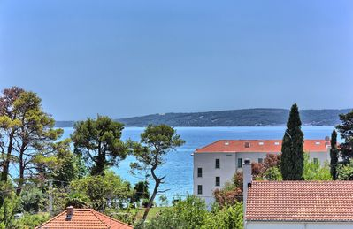 Photo for 7 bedroom house - sea views, heated pool - close to the beach,Cafes+Restaurants