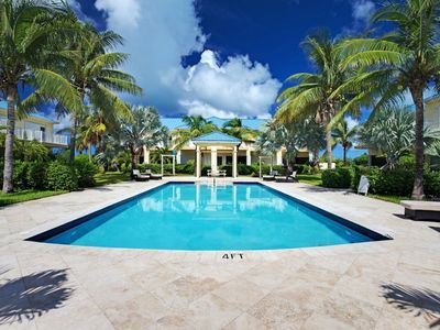 Photo for Beautiful 2 Bedroom Townhome steps from Gracebay Beach! **Car Rental Available**