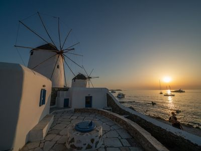 Photo for Iconic Windmill in Mykonos
