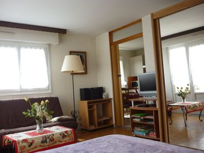 Photo for 40m2 studio located 5 minutes walk from the city center with beautiful terrace