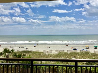 Photo for Relax on Private Oceanfront Balcony / Efficiency suite at Caravelle Resort