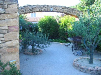 Photo for Nice semi-detached house with a pool in the heart of Provence