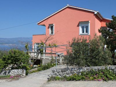 Photo for Apartment in Vrbnik (Krk), capacity 4+0