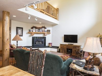 Photo for Deluxe 4-bedroom, 3 and ½ bath townhouse property with ski-in/ski-out access