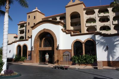 Front entrance of Coral Baja