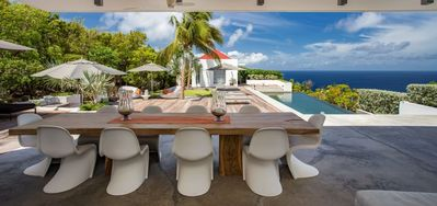 Villa Palm Springs  -  Ocean View - Located in  Magnificent Gouverneur with Private Pool