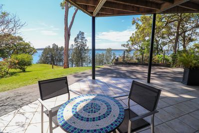 Views of lake Macquarie from your doorstep