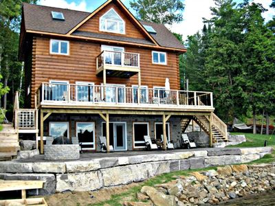 Photo for LUXURY LAKEFRONT COTTAGE- KAWARTHA LAKES