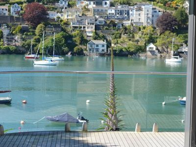 Photo for Luxury holiday home just outside Kingswear, with beautiful view over the water
