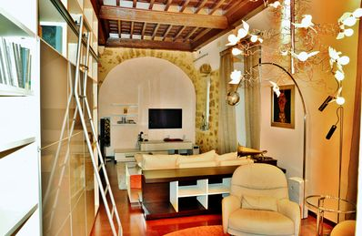 Photo for A stately apartment is rented in the old town of Girona
